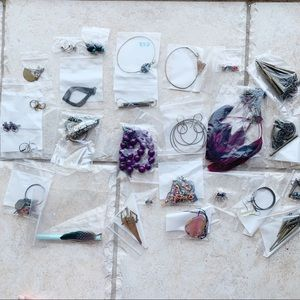 Jewelry - Boho Costume Jewelry Lot